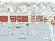 This is a  map of what the Wharf will look like.