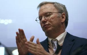 Eric Schmidt, chairman of Google Inc., speaks during a New Digital Age event at the London School of Economics (LSE) in London, U.K., on Thursday, May 23, 2013. U.K.