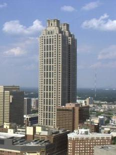 One Ninety One Peachtree Tower is now at its highest level of occupancy since 2006, when Cousins Properties Inc. bought the building.