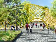 A plaza is proposed for the Seattle Aquarium on the waterfront. It's one of many projects proposed for the shoreline.