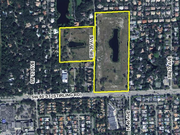 MG3 plans to build 77 single-family homes and 40 duplex units at this site in Hollywood.