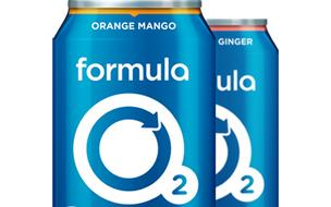 Formula O2 has 10 times the oxygen of tap water, 2.5 times the electrolytes of Gatorade, and caffeine equal to a cup of coffee.