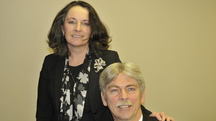 Connie Sawdey is president of Sawdey Solution Services and Jeff Sawdey is vice president.