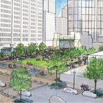 Downtown Partnership wants a Hopkins Plaza building demolished to make way for green space