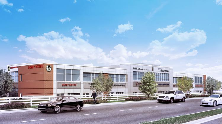 Rory McMahan, managing partner of The McMahan Group, said his company will soon begin construction of a 40,000-square-foot, mixed-use building at Old Brownsboro Crossing.