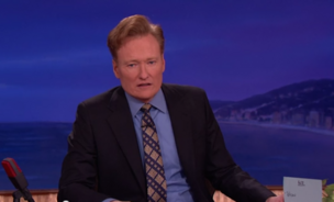 Conan O'Brien interviews the