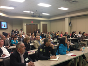 The event was filled with eager local businesses looking for greater opportunity.