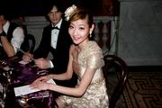 "Maki Onuki, a ballerina with the Washington Ballet, is at a dinner in the Library of Congress on April 12. The occasion is ""A Moveable Feast: The Hemingway in Paris Ball,"" a fundraiser for the Washington Ballet."