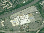 The existing Landmark Mall. Sears and Macy's will remain, but the section between those two anchors will be redeveloped.