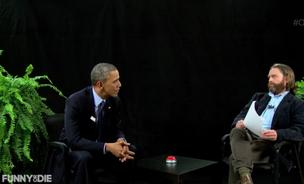 President Barack Obama interviewed by Zach Galifianakis.