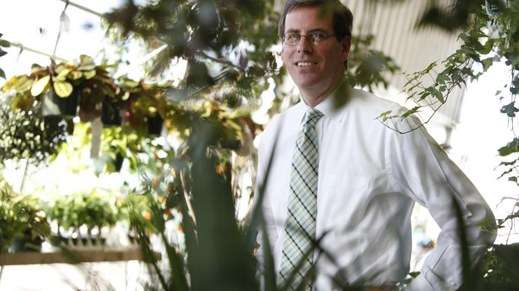 Mark Birmingham in 2011 after becoming CEO of Stein Gardens & Gifts.