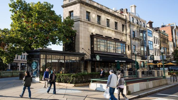 Harbor Group International has paid $16.2 million for the Starbucks Building by Dupont Circle in a sale brokered by Calkain Cos.
