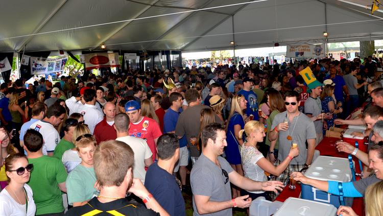 Last year's World Beer Festival in downtown Raleigh attracted quite a crowd of beer tasters.