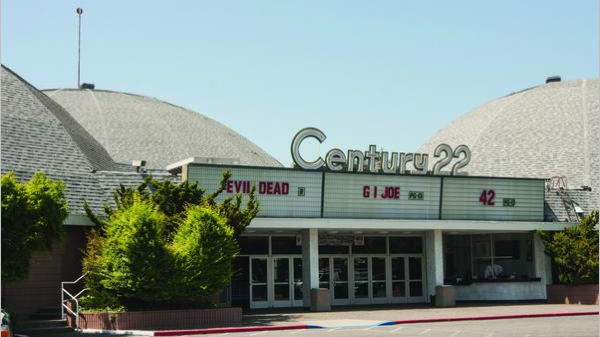 The Century 21, 22 and 23 theaters in San Jose.