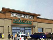 Whole Foods Market is one of the anchors of the future Persimmon Place shopping center in Dublin.