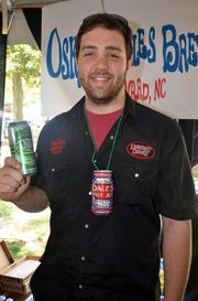 Alex Comiskey, North Carolina sales leader, Oskar Blues, Brevard  The mothership is based in Lyons, Colo., but Oskar Blues Brewery has recently set up shop here in North Carolina. No bottles for these guys - Oskar Blues serves its customers in cans only. Some of its beers include Dale's Pale Ale, Old Chub, Ten Fidy and G'Night Imperial Red.