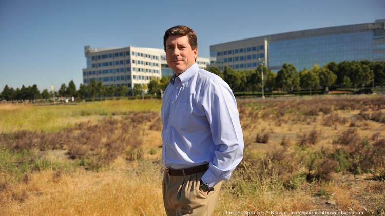 Regency Center's looks to Dublin's growth in jobs and housing to justify new retail construction in the East Bay city, said Pete Knoedler, senior vice president for investments. The site of the future Persimmon Place is an empty, 14-acre lot.