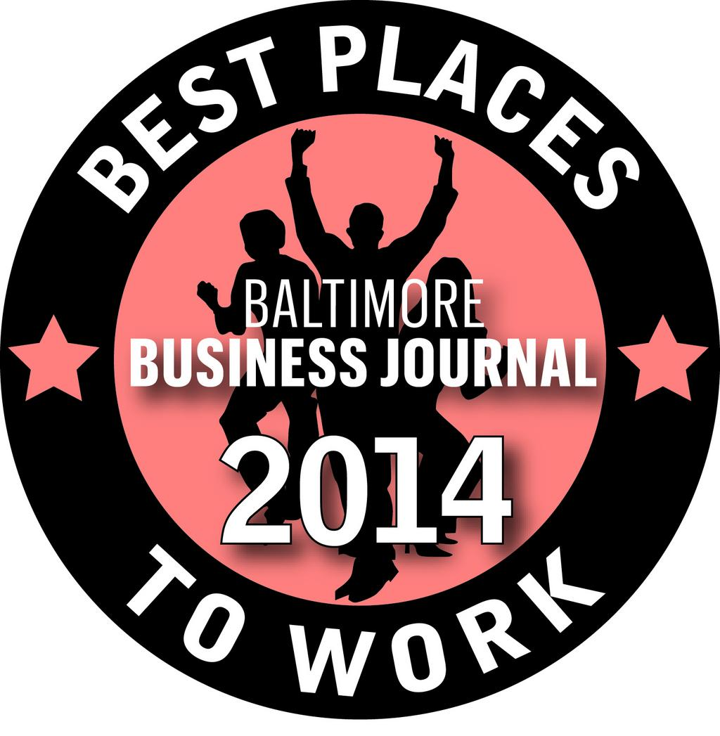 Baltimore Business Journal Best Places to Work 2014