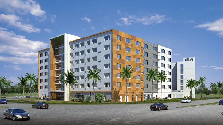 The 139-room Element Miami Doral should be completed in July 2015.