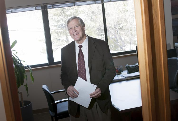 Nicholas G. Muller, now principal of his own law firm, has been awarded the lifetime achievement award by the Association of Corporate Counsel's Colorado Chapter for his part in founding the group 30 years ago.