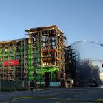 Mission Bay Fire could spell delays for housing developments