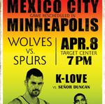 Timberwolves tickets are finally on sale for Mexico makeup game