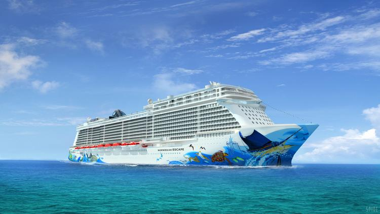 Norwegian Cruise Lines may add touchscreen technology to expedite food and drink orders on its ships in a $250 million fleet upgrade.