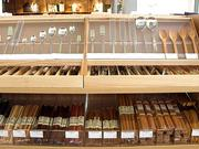 In addition to clothing, Muji sells home goods like utensils.