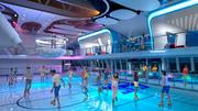 The skating rink will be part of the Quantum of the Seas SeaPlex, which also offers bumper cars, circus school and basketball courts.