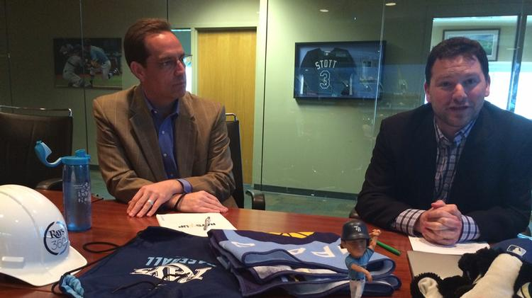 Mark Fernandez, Rays senior vice president/chief sales officer, and Brian Auld, Rays senior vice president, discuss the Rays 2014 Marketing strategy.