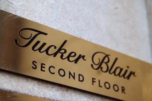 E-commerce clothing startup Tucker Blair's first brick-and-mortar showroom opened in late February. Courtesy Tucker Blair.