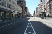 Another view of Boylston Street from Arlington Street.