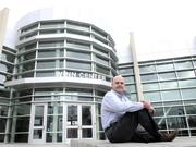 Nils Blomquist of DPR Construction Inc., which built the Winn Center at Cosumnes River College.