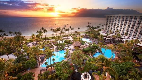 The Westin Maui Resort Spa In Kaanapali Seen Here Is One Of Several