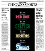 Sports world reacts to tragedy: Media, athletes go to bat for Boston