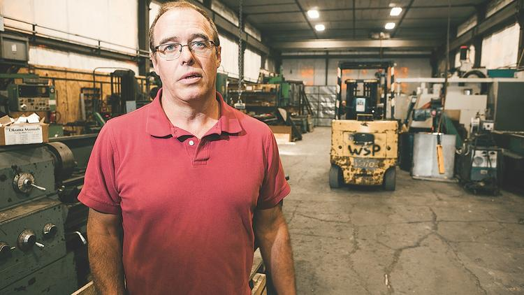 Watson Steel owner Jeff Watson, above, said finding skilled workers is one thing. Quite another is finding those who can pass drug tests and will arrive on time or even every day.