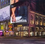 Express opens 'spectacular' flagship in Times Square, plans 30 outlet shops