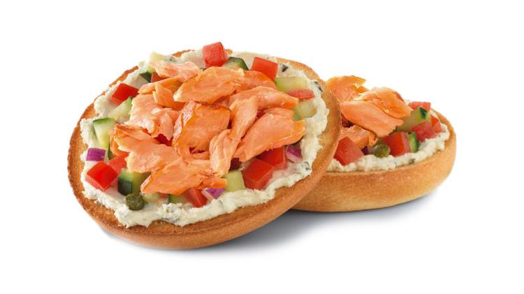 In addition to its namesake bagels – which are baked in-store everyday – Einstein Bros. serves egg sandwiches, bagel sandwiches, soups, salads, pizza bagels, coffee, espresso, muffins and cookies.