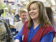 Amy Jones works part-time at Lowe's Home Improvement to supplement her teacher salary.