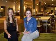 Caitlin Agnew, left, and Lana Morisoli are the co-founders of Makers.