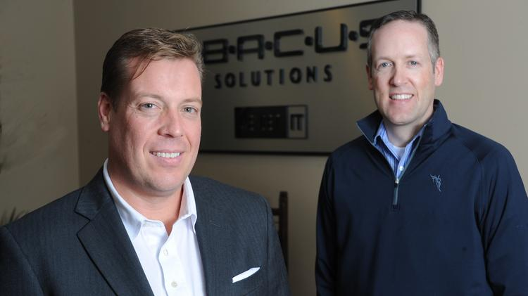 Ken Snuggs and Steve White of Abacus Solutions.