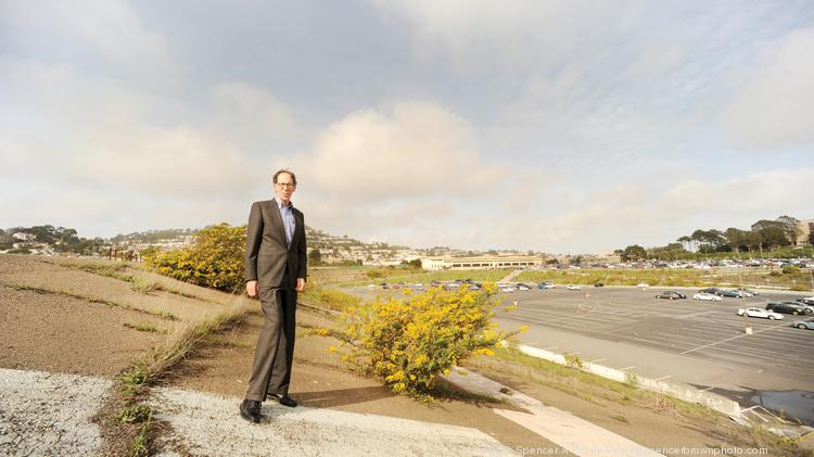 "Balboa Reservoir: The SFPUC owns the plot on Phelan Avenue. ""There is always opposition to everything,"" says David Prowler of developing city-owned land."