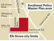 City of Elk Grove planners are putting the final touches on the Southeast Policy Master Plan, an area of about 1,200 acres in the city's southeast corner, along Highway 99 and north of Kammerer Road.