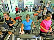 Clayco's on-site fitness center includes a full-time personal trainer who offers one-on-one classes and up to four boot camp programs daily.