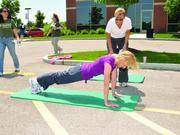 St. Luke's Hospital offers personal training classes in addition to two on-site gyms with expanded hours for employees.