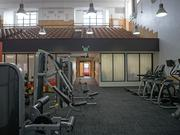 The old auditorium at the former Highlandtown Middle School, now 101 Ellwood, is the building's gym.