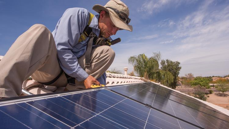 Rooftop solar installers say uncertainty about the amount of money Duke Energy will pay for extra electricity generated by those systems is putting a crimp in sales.