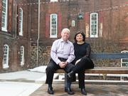 Bob Lane and Francesca Pardo, early tenants in Mill No. 1, became obsessed with the old stone houses and mills along the Jones Falls.