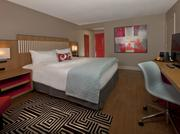One of the newly renovated guest rooms at the Wyndham Orlando Resort
