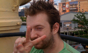 Co-founder of app company, OMGPOP, in a Flickr Creative Commons image dated June 6, 2009.